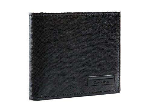 Calvin Klein Saffiano Leather Passcase Wallet