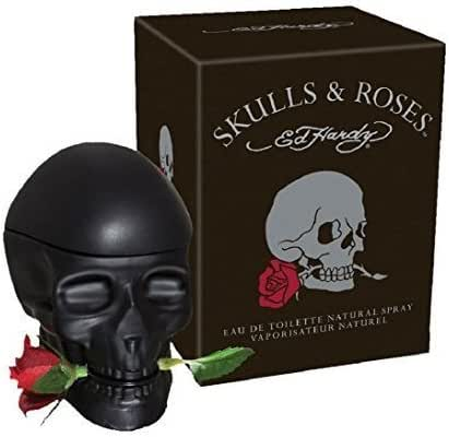 ED HARDY SKULLS & ROSES by Christian Audigier 2.5 oz Cologne for Men