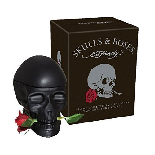 Skulls and Roses ED Hardy Colognes for Men, 2.5 Ounce by Ed Hardy ()