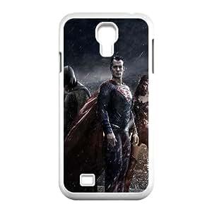 Samsung Galaxy S4 9500 Cell Phone Case White_an29 batman superman poster art film dark Nlzix