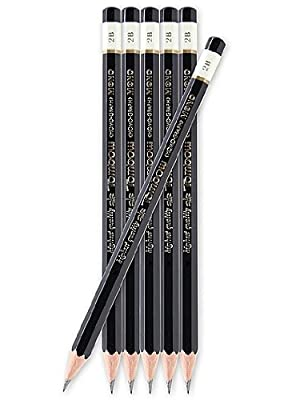 Tombow Mono Professional Drawing Pencils 6B each [PACK OF 24 ]