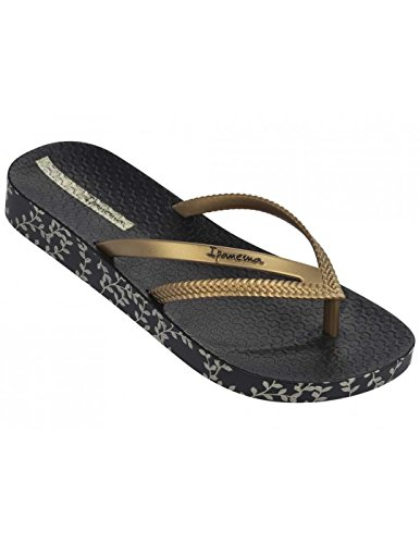 Raider Ip82064/21117, Chanclas Unisex Adulto Varios colores (Negro /     Oro)