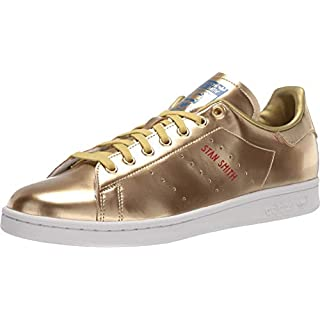 adidas Originals mens Stan Smith Sneaker, Gold, 7 US