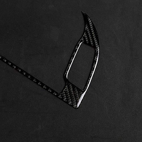 Cratone Pegatinas Coche Tuning Coche Caja de Protecci/ón Externa de Fibra de Carbono 3D Compatible con Audi A4 B8