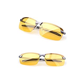 HD polarized Driving Glasses Anti-Glare Sunglasses Night Vision Polarized Aviator Glasses