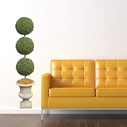 Topiary Tree Design 1 Vinyl Wall Decal - 47.2