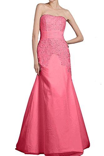 Abendkleider Kleider Lang Elegant Braut Partykleider Etuikleider La Hell mia Wassermelon Blau Jugendweihe Chiffon Spitze Promkleider Ozcw0q