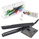 "Corioliss K5 Keep My Colour Professional Salon Treatment 1"" Flat Iron Hair Straightener, 2 Year Warranty, Restores, Repairs, 12 x 5ml patented Keep My Colour capsules incl."