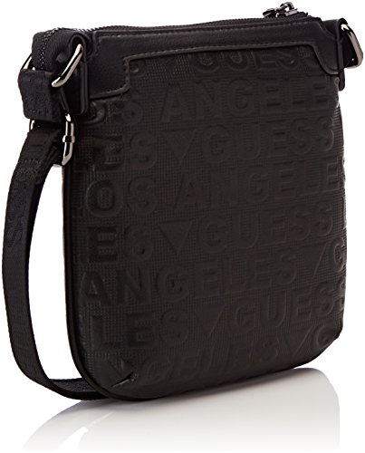 2 5x22x21 L Bag H W Shoulder Black cm Nero Hm6150pol73 x Men's Guess Fq7Y0Y