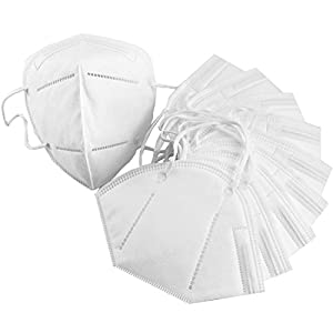 Harmony Life 50 pcs Non-Toxic Disposable Safety Mask Anti-dust Industrial Face Mask (50 pcs, White)