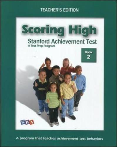 Scoring High on the SAT/10: Grade 2 PDF