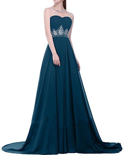 Missdressy - Vestido - para mujer Azul Tinta