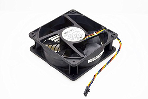 Genuine Dell 120x38mm DC12V 148.34 4-Wire 4-Pin CFM For Computer Case Chassis Cooling CPU Fan The PowerEdge 800