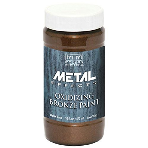 - Modern Masters ME396-16 Reactive Metallic Bronze, 16-Ounce
