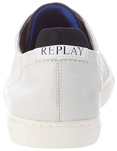 Replay Herren Midwest Sneaker Weiß (Off White)