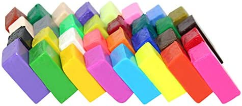 Liyuan - Bloques de arcilla polimérica de 32 colores para horno ...