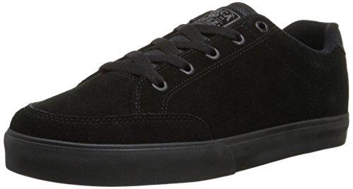 C1RCA Men's AL50 Slim Skateboard Shoe, Black/Shale, 8.5 M US (Al50 Shoes Skate)