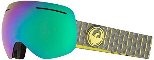 Dragon Alliance X1s Ski Goggles, Black, Medium, Echo/Transitions Yellow Lens