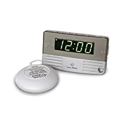 NEW Sonic Alert SB200SSEU Alarm Clock w/ Bed Shaker and Extra loud Snooze