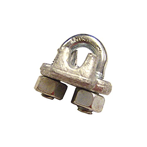 Galvanized Drop Forged Wire Rope Clip (Forged Wire Rope Galvanized Clips)