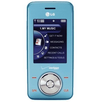 LG VX8550 Chocolate Blue Ice No Contract Verizon Cell Phone ()