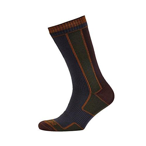 ウェーハと飛行場SealSkinz(シールスキンズ) Walking Sock 防風?防水ソックス 靴下 1111409