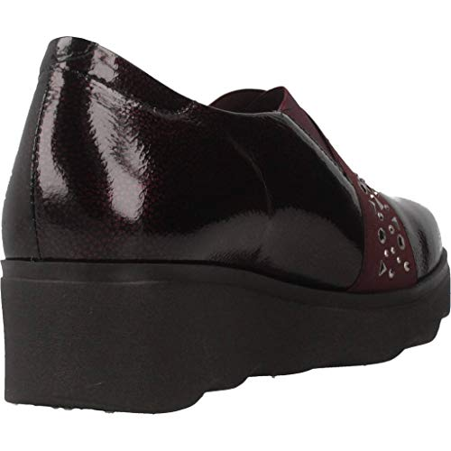 Rojo Pitillos Marca Cordones Zapatos Mujer Rojo Cordones Zapatos 5342P Mujer Modelo de para De Pitillos para Rojo Color SBwaS6q