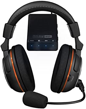 Turtle Beach Earforce X-Ray - Auriculares de diadema cerrados inalámbricos (con micrófono, 3.5 mm, 120 dB), negro: Amazon.es: Electrónica