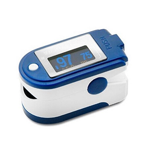 CMS 50D+ Blue Finger Pulse Oximeter with...