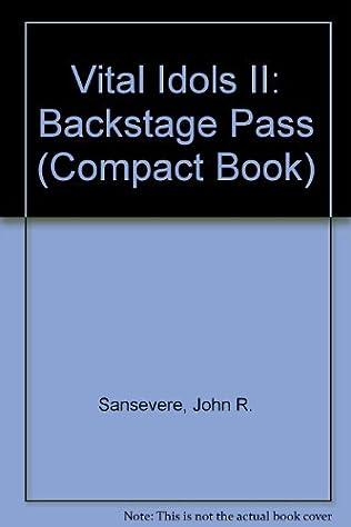 book cover of Vital Idols II: Backstage Pass