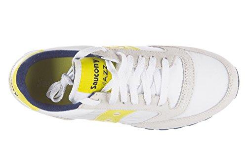 Scarpe Da Ginnastica Donna Camoscio Sneakers Bianche