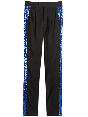 Nowadays Girls Flat Front Pants (36x32, Black) by Nowadays (Image #1)