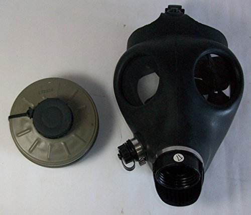 SGP Israeli Style Civilian Protective Gas Mask w/ Water Plug & Filter
