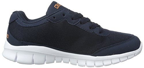 Kappa Rocket - Zapatillas Unisex adulto Azul (6744 Navy/orange)