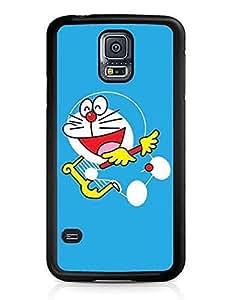Doraemon Cartoon Samsung Galaxy S5 I9600 Cute Plastic Phone Case Cover
