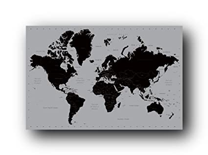 Amazon world map contemporary poster art print posters prints world map contemporary poster art print gumiabroncs Image collections