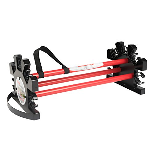 RACK Assassin Tool Rack & Caddy - For Shovels, Racks, and Yard tools. Best for Gardening and Landscaping. Garage Tool Organizer. by Root Assassin