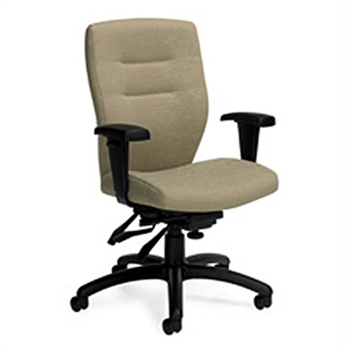 Global Synopsis Medium Back Multi Tilter Chair in Beach Day