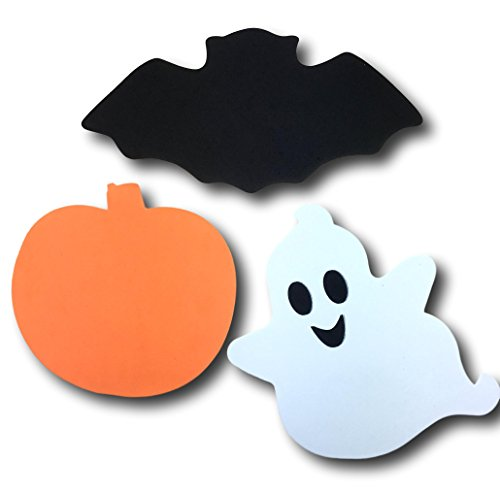 Foam Halloween Character Shape Decoration Set - 60 Piece Set -