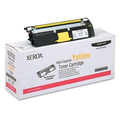 - XEROX BR PHASER 6120 1-HI YLD YELLOW TONER - XEROX OEM Toner