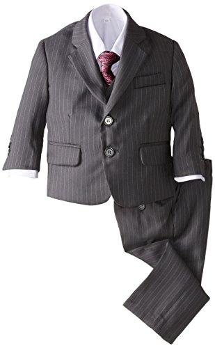 Joey Couture Baby Boys' 5 Piece Pinstripe Suit