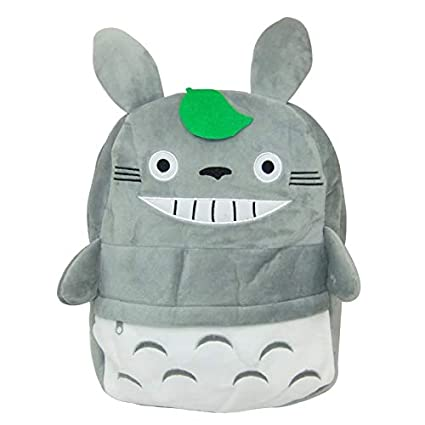 Jewh New Arriving Totoro Plush Backpack Cute Soft School Bag for Children Cartoon Bag for Kids