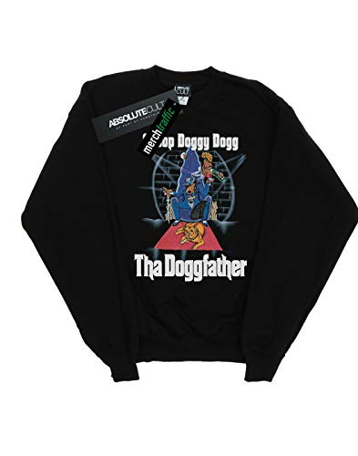 Felpa Cult nera Doggfather Cartoon Dogg Snoop Boy Absolute PSwzz