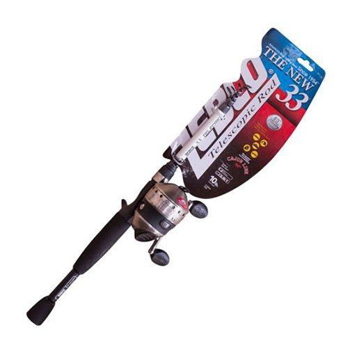 (Zebco/Quantum 33MCK505TEL.FB4 Zebco/Quantum, 33Micro Trigger Telecast Combo, 4.3: 1 Gear Ratio, 16