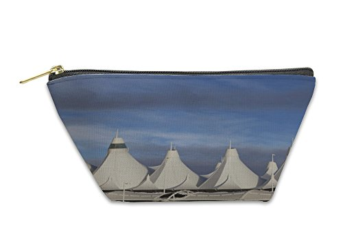 Gear New Accessory Zipper Pouch, Denver International Airport Roof, Large, - Stores Airport In Denver