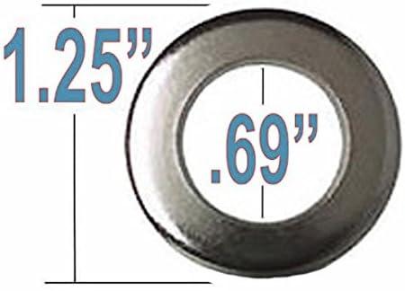 Cragar Standard Mag Lug Nut 1//2-20 Black with Black Standard Washer Set of 20 Pcs