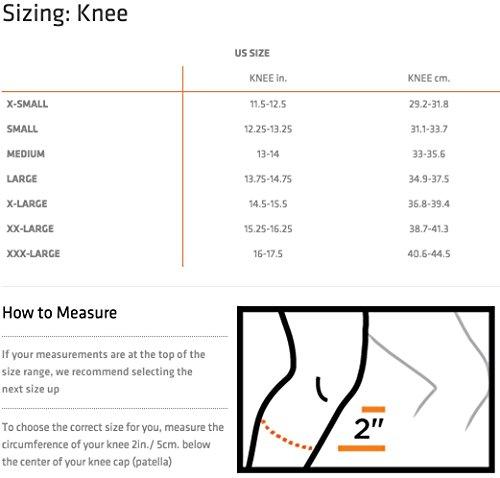Shock Doctor Knee Support Compression, Light Support for Arthritis, Bursitis, Tendonitis, Patella Alignment, for Men & Ladies, Sold as Single Unit (1) – DiZiSports Store