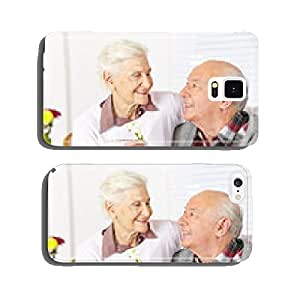 Senior gives a flower Senior cell phone cover case iPhone6 Plus