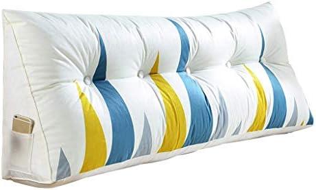 三角形のくさび枕ダブルヘッドソフトパックバックベッドサポートスタンド読書ベッド枕多機能洗える4色、5サイズ(色:C、サイズ:180 CM)