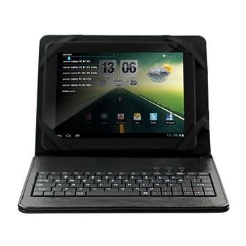 Woxter TB26-098 - Funda con teclado USB para tablet de 10.1 pulgadas, color negro: Amazon.es: Informática